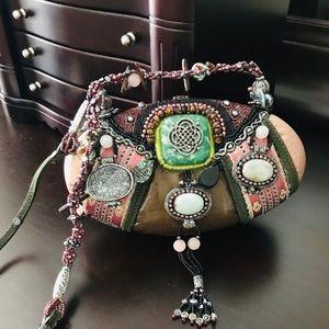Mary Frances leather bag.